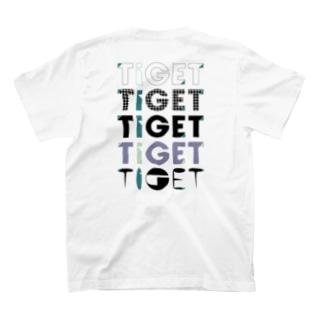 TIGET 6周年記念グッズ ロゴ ver. T-shirts