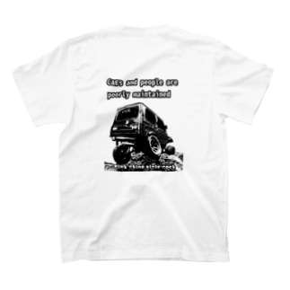 gimny★baby's ✖️じむ兄コラボTシャツ  ja10 ジム男Tシャツ T-shirts