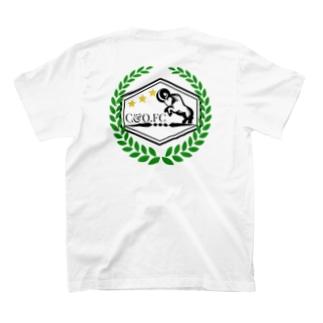チッチアンドクー CHICCHI&QOOのNO15-ムフロン(イラン・イラク) T-shirtsの裏面