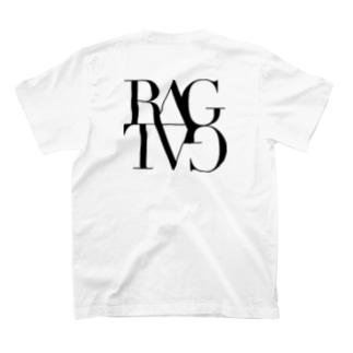 RagTagロゴ黒背面 T-shirts