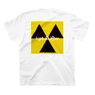 HIGH D Low T-shirts