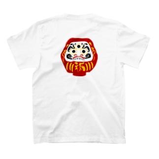 三つ目ダルマ T-shirts