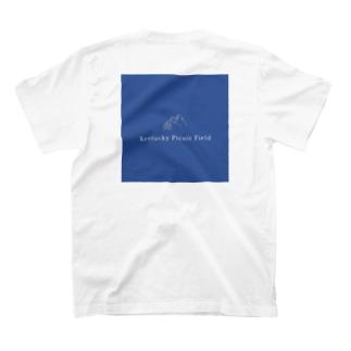ケンタッキーピクニックフィールド 青 T-shirts