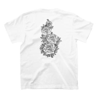 Roses. T-shirts