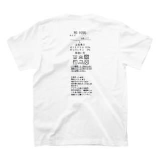 品質タグ T-shirts