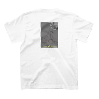 Digital revais :タロットカード愚者(モノトーン) T-shirts