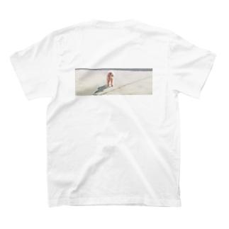 背中で最大級の癒しをみんなにあげる!ティシャツ T-shirts