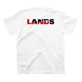 LANDSのLANDSロゴ T-shirtsの裏面