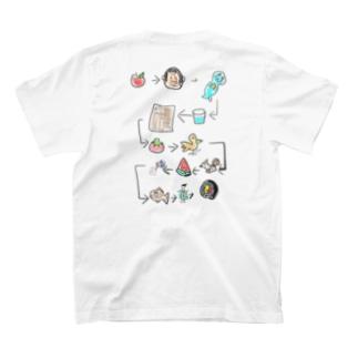 絵しりとり。全部わかるかな⁇ T-shirts