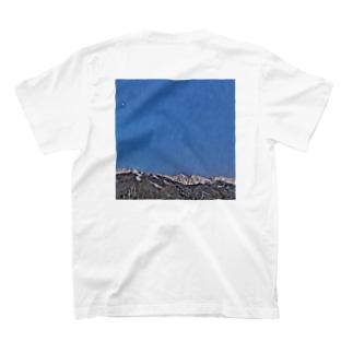 白馬三山の風景Tシャツ T-shirts