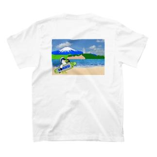湘南江ノ島と富士山 T-shirts