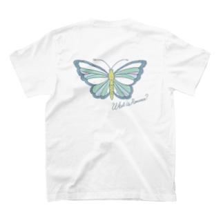 ロマンスなチョウチョ T-shirts
