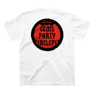 GEMSMAN CIRCLE LOGO T-shirts