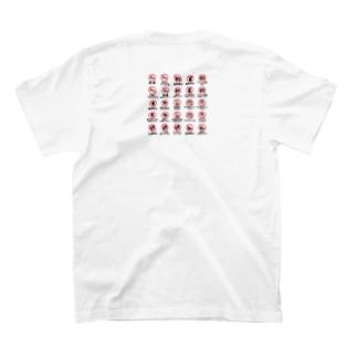 M.Kのマークのあれやこれ。 T-shirtsの裏面