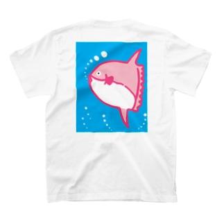 ピンクマンボウ T-shirts