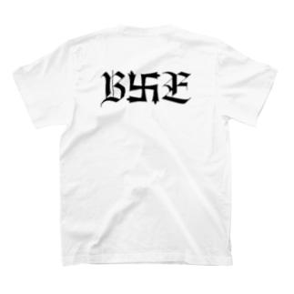 B卍Eデザイン 黒 T-shirts