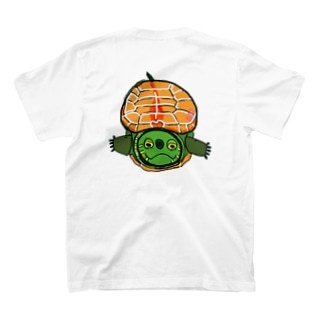クサガメ男子の正面顔 T-shirts