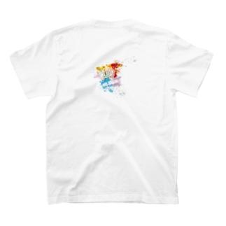 MR,BRAINオフィシャルグッズのMR,BRAIN ロゴTシャツ Aカラー T-shirts