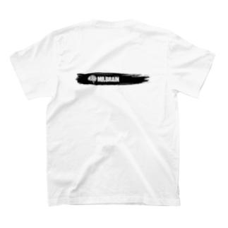 MR,BRAINオフィシャルグッズのMR,BRAIN ロゴTシャツ Bモノ Tシャツ  T-shirts
