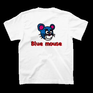 かずまろのblue mouse T-shirtsの裏面