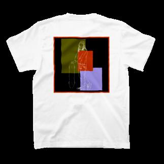 Ma Chérieのスケボ女子3 T-shirts