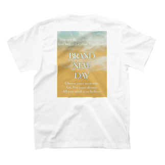 ___faceのBRAND NEW DAY 02 T-shirts