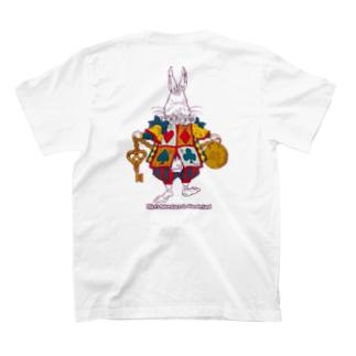 Alice White Rabbit アリスの白ウサギ T-shirts