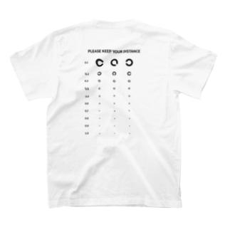 着るだけで社会的距離が保たれる T-shirts
