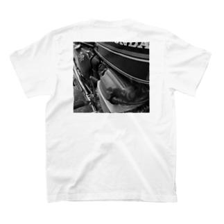 バイクマニア‼︎バックグラウンドT T-shirts