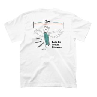 【ソーシャルディスタンス】オウギワシ T-shirts