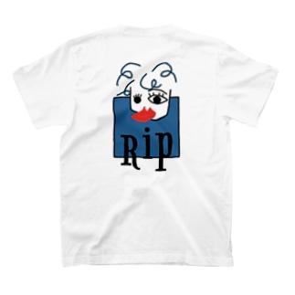 Rip ピソカ ワンポイント(有) T-shirts