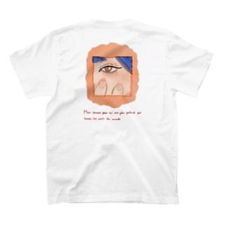 ピンクの爪 T-shirts