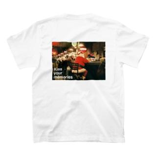 """ Break time ""  back print  T-shirts"