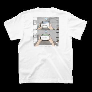 Mr.boyのstay home  ステイホーム T-shirtsの裏面