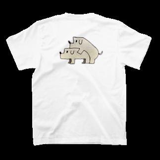 Animals MatingのDogs  Mating(犬の交尾) T-shirts
