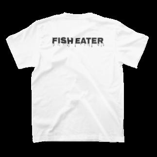 かざまの風間水産カクハチロゴ&フィッシュイーター T-shirts