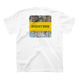 Eight bee ロゴ001 T-shirts