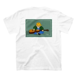 ギター1日目〜琴弾き〜 T-shirts