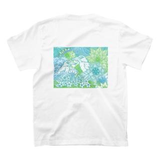 バックプリントAタイプ T-shirts