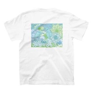 バックプリントBタイプ T-shirts