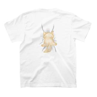 しがみつくイッヌ T-shirts