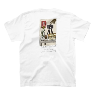 pisccoのstay home T-shirts