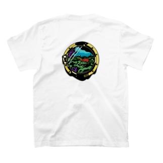 Tohma.m. のShrimp : Logo Black T-shirtsの裏面