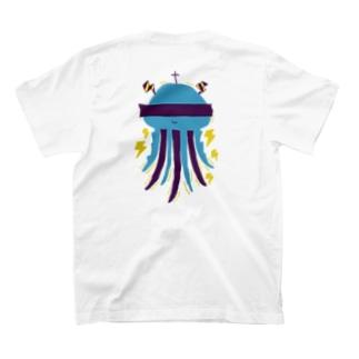 びりびりクラゲ2 T-shirts