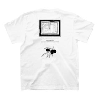 ブンカセンターの【ブラック】リビング T-shirtsの裏面