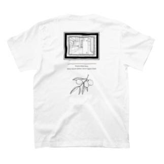 ブンカセンターのリビング T-shirtsの裏面