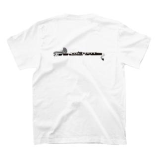 バスクラリネット 横 T-shirts