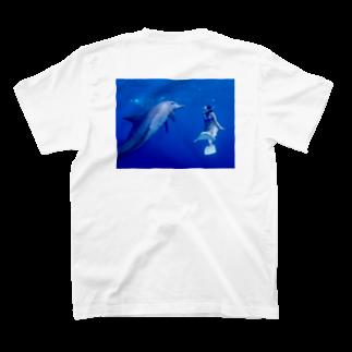 くりみなのmeet dolphine  T-shirts