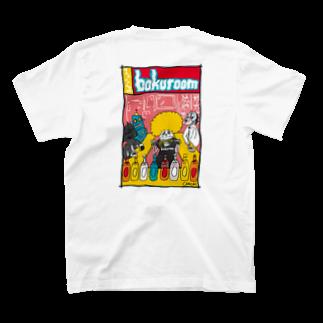 ko-se-のポップぼくるーむ T-shirtsの裏面