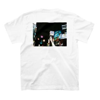 夜の渋谷 T-shirts